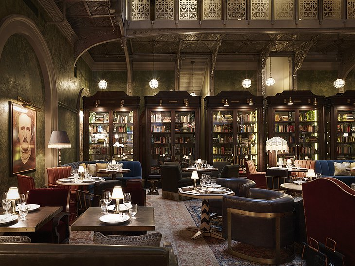 The Beekman Hotel grand lounge