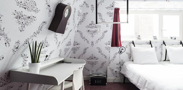 Kaboom Hotel Maastricht - Low budget rebellious concept hotel