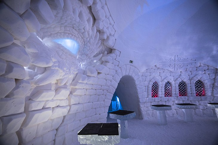 Lapland Hotels SnowVillage Dragon Eye