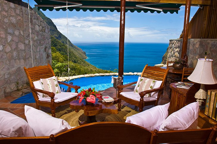 Ladera Resort balcony