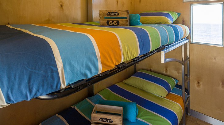 Truck Surf Hotel shared room