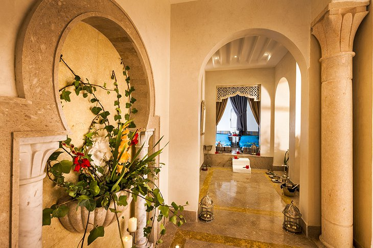 Hasdrubal Thalassa hammam in the spa