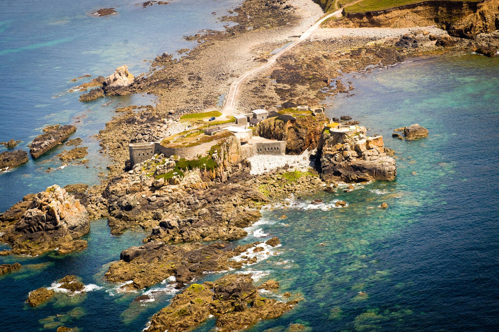 Image result for Fort Clonque – Alderney, UK