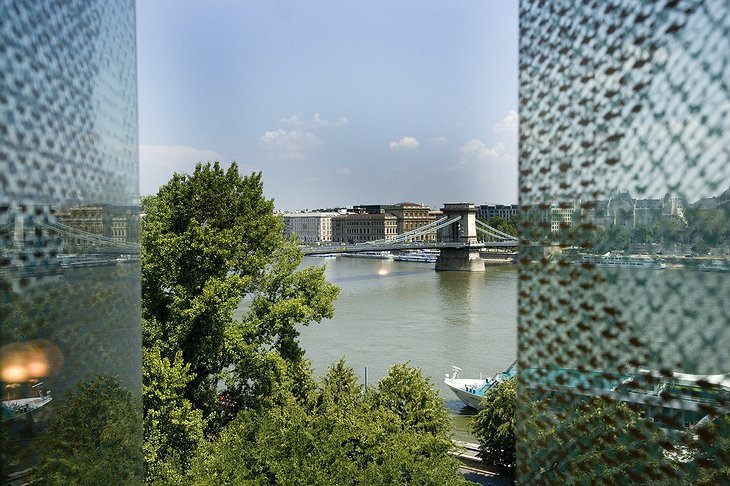 Facade and panorama on Danube