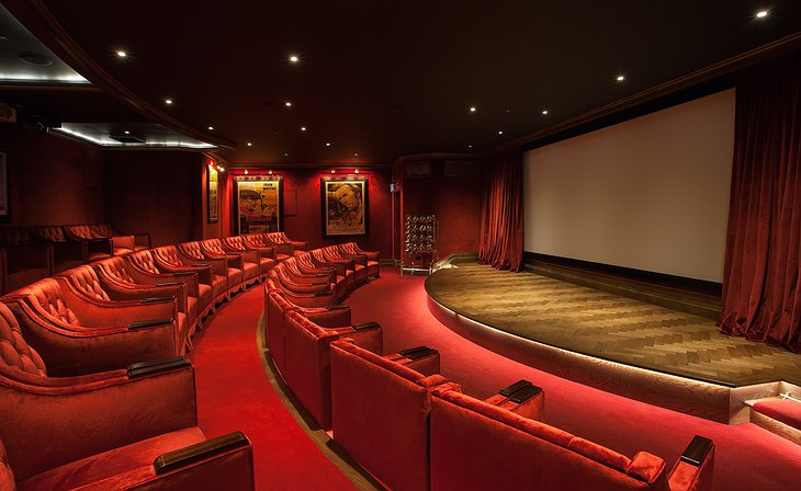 Ashford Castle cinema room
