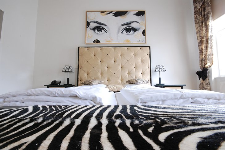 Luxury zebra room