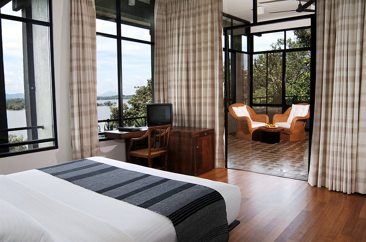 Heritance Kandalama Hotel room with lake view