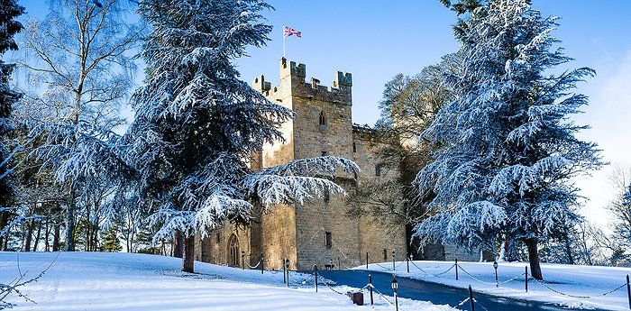 Langley Castle Hotel - Medieval castle in the English countryside