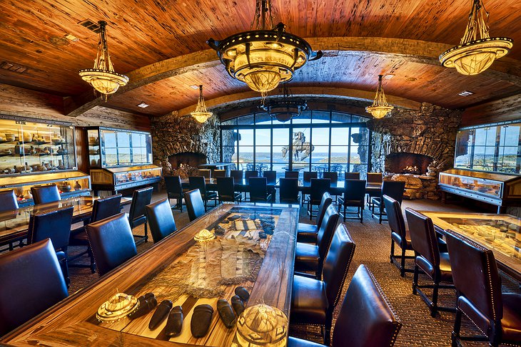Big Cedar Lodge Wine Event Room