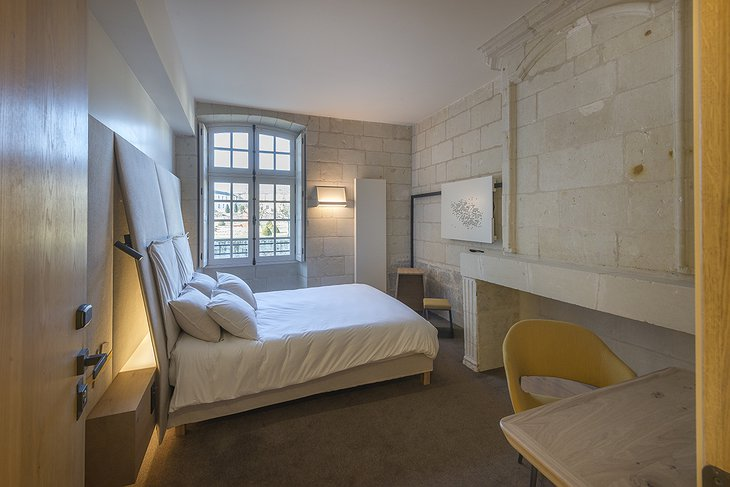 Fontevraud Hotel bedroom