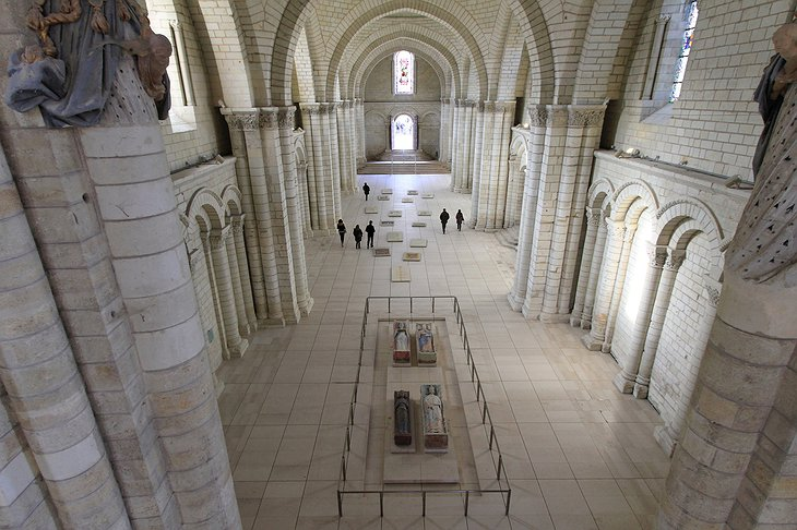 Fontevraud Abbey holy interior
