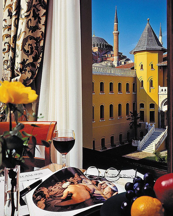 Four Seasons Sultanahmet room with view