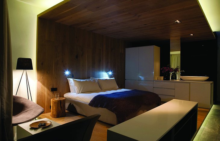 POD Hotel luxury room