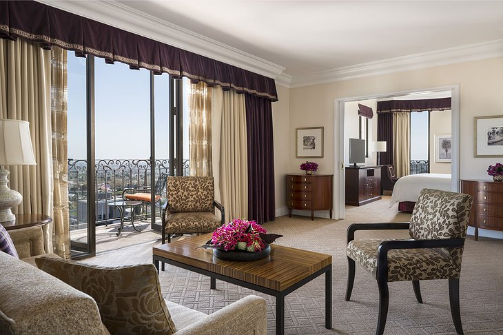 Beverly Wilshire Hotel Suite with Balcony