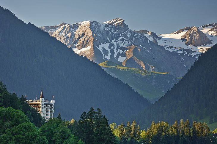 Gstaad Palace in the Swiss Alps
