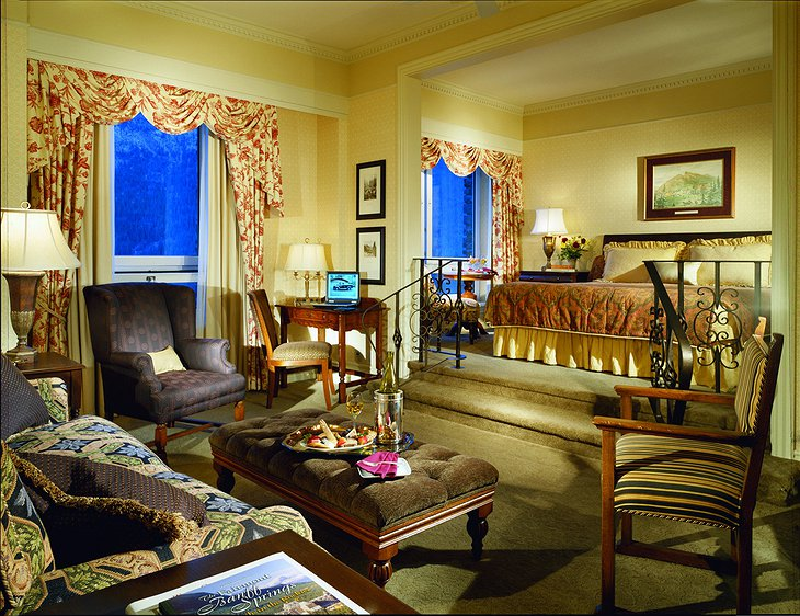 Fairmont Banff Springs Hotel suite