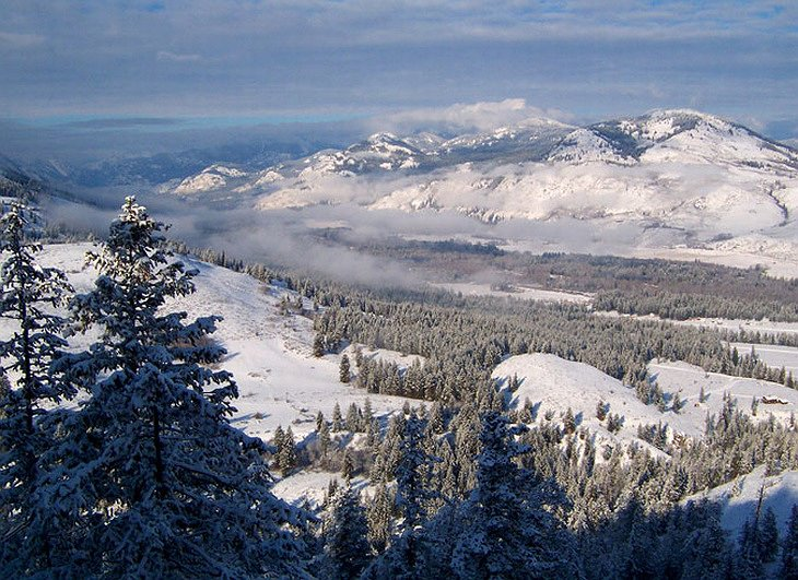 Methow Valley in the winter