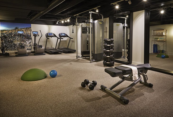 Hotel Zetta fitness center