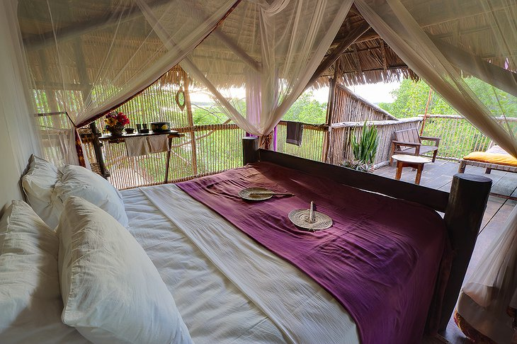 Chole Mjini Lodge treehouse room