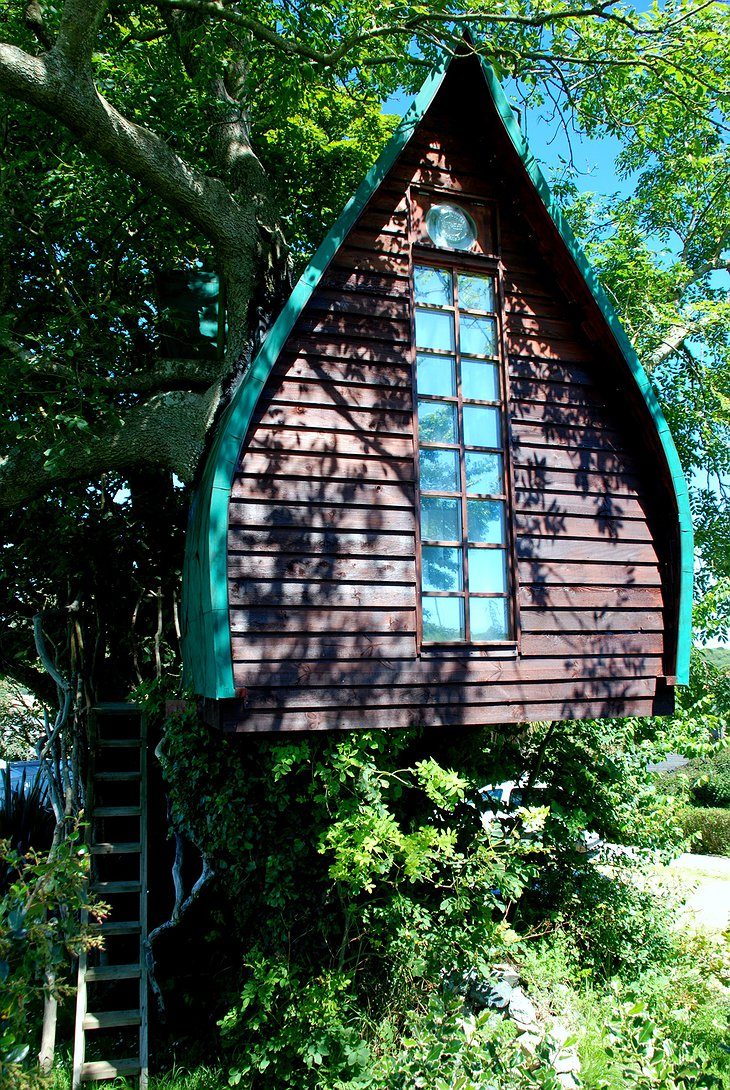 Tree Sparrow House front