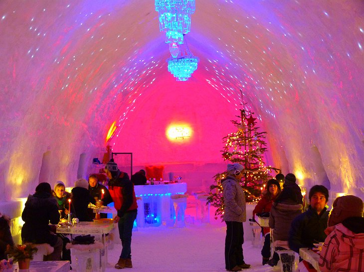 Magical Ice Restaurant