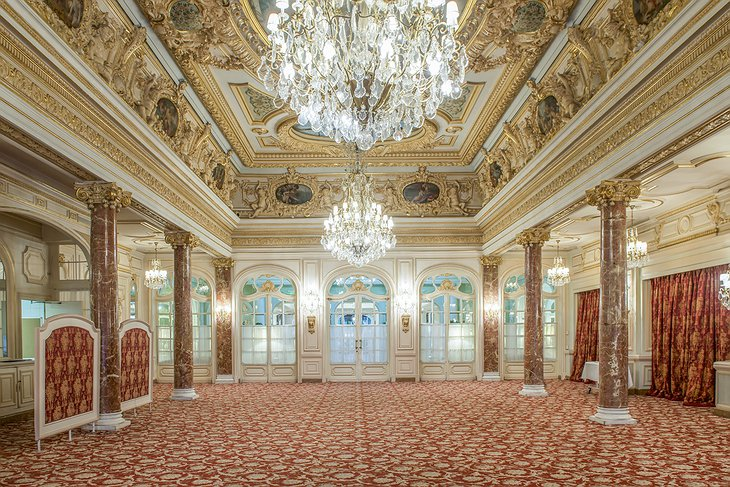Hotel Hermitage Monte-Carlo wedding hall