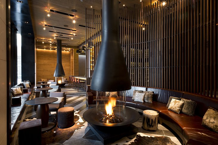 The Chedi Andermatt lounge