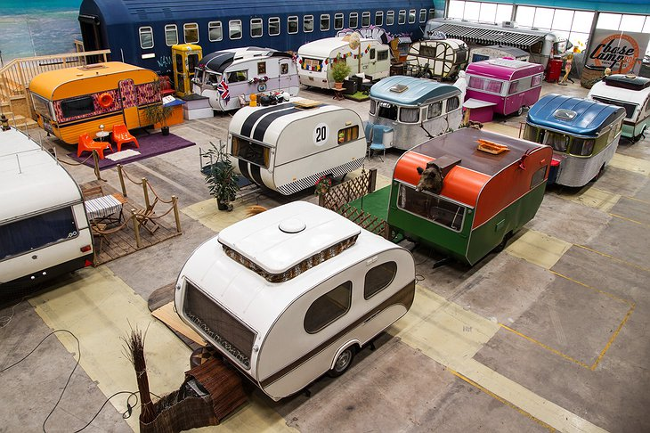 BaseCamp Bonn campground trailer vintage park