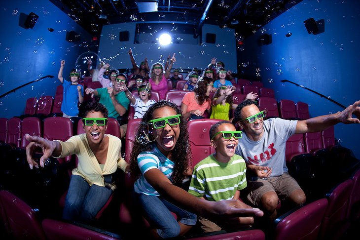Holiday Inn Resort Orlando Suites 4D theater