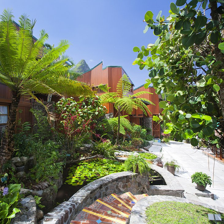 Ladera Resort buildings