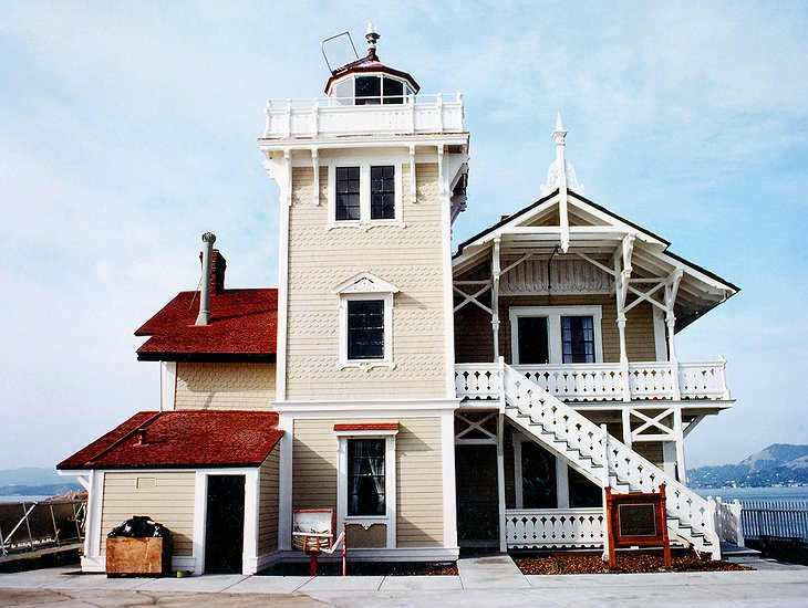 East Brother Light Station building