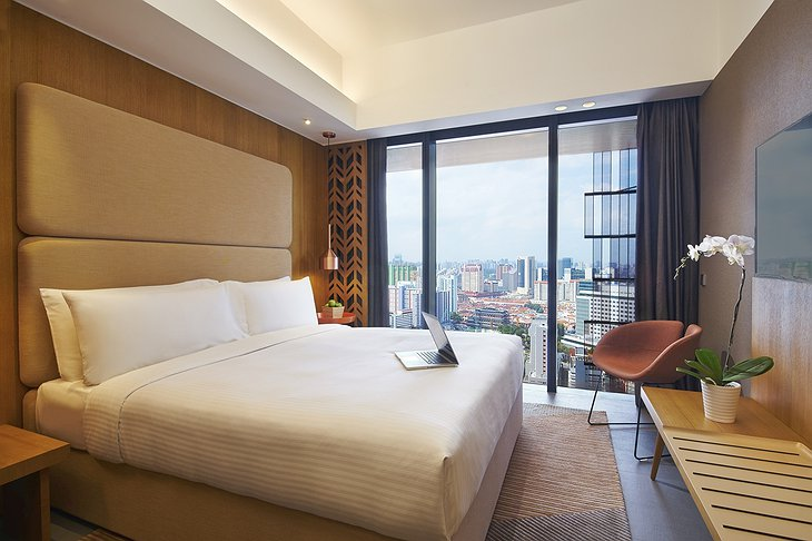 Oasia Hotel Downtown Singapore Deluxe Room City View
