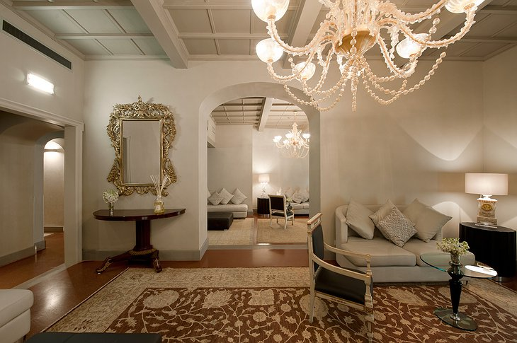 Hotel Brunelleschi relax salon