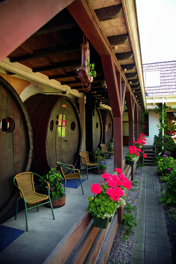 Wine Barrel Hotel De Vrouwe Van Stavoren