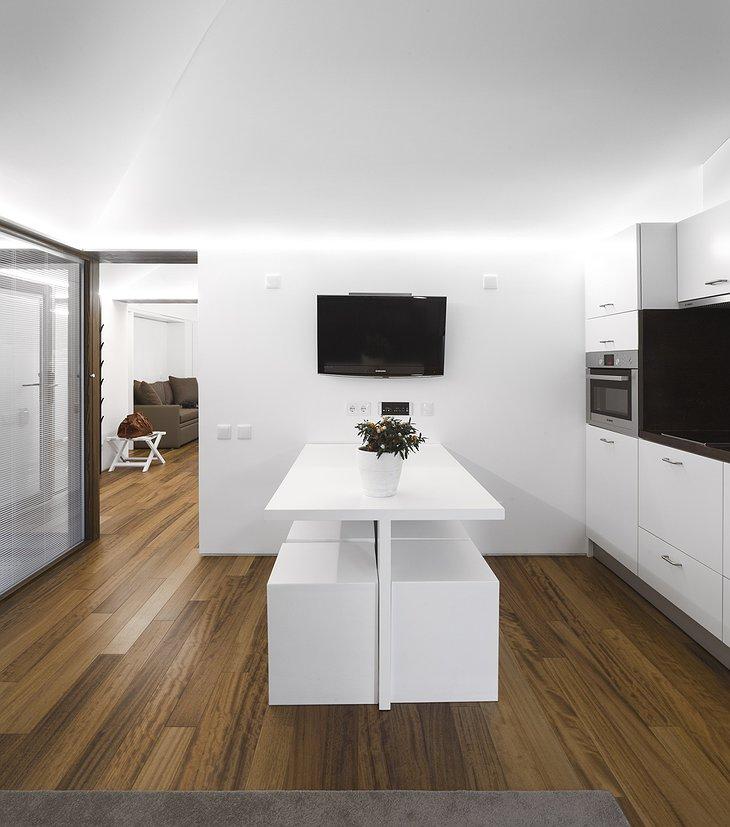 Pedras Salgadas eco house kitchen