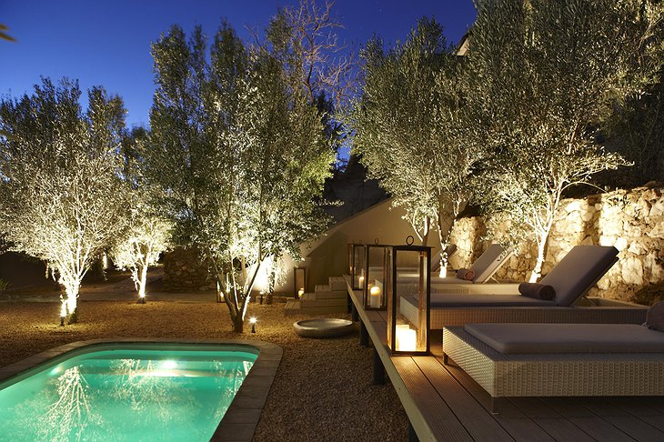 The Olive Exclusive pool
