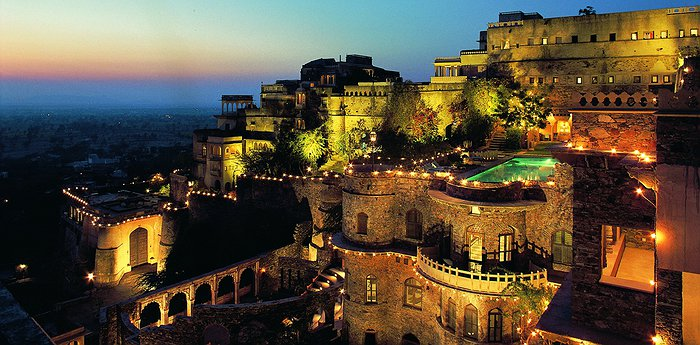 Neemrana Fort-Palace - A Restored Indian Fortress