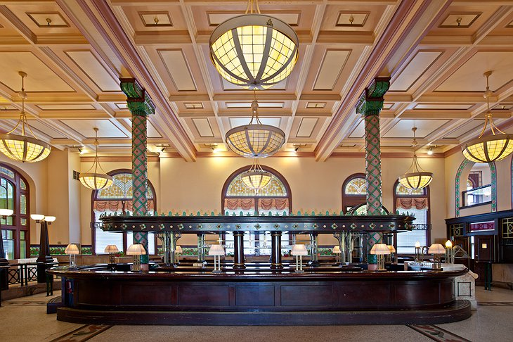 Crowne Plaza Hotel Indianapolis Downtown Grand Hall Bar