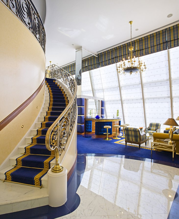 Club Suite stairs