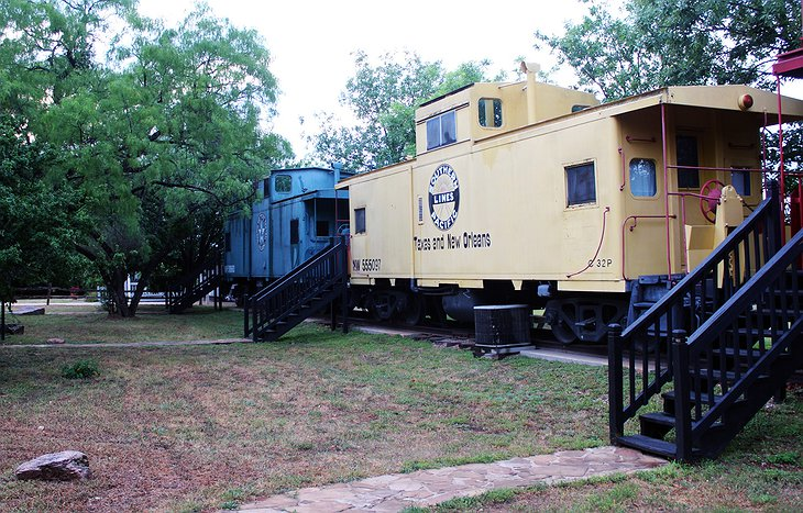 The Antlers Inn Train Caboose
