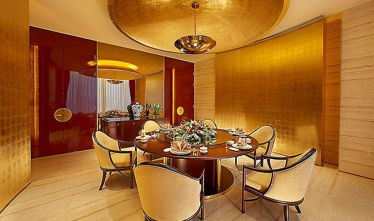 Pangu Hotel private dining