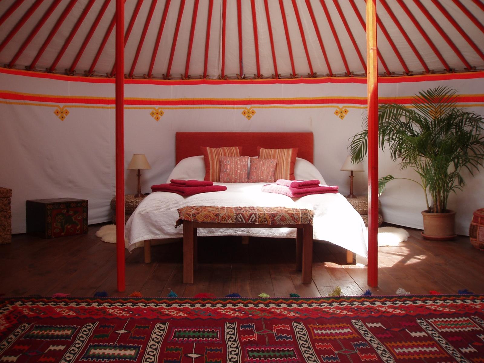 The Hoopoe Yurt Hotel Traditional Nomadic Living