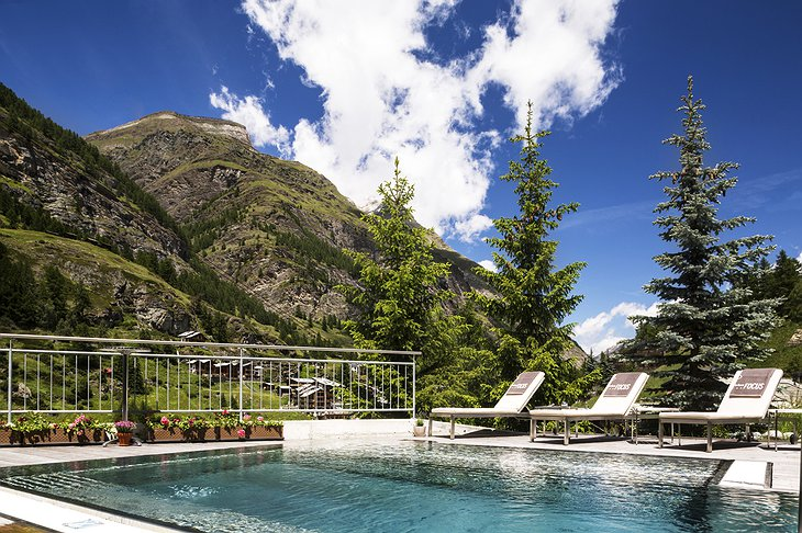 Hotel Matterhorn Focus outdoor pool
