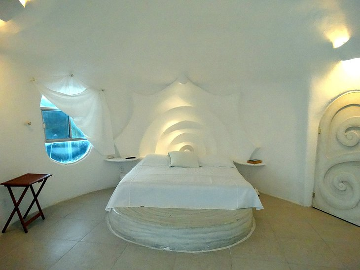 The Shell House bedroom