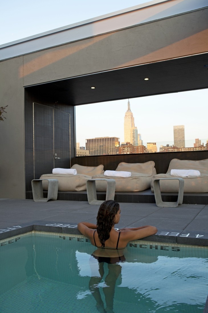 Hotel americano for Hotel americano pool