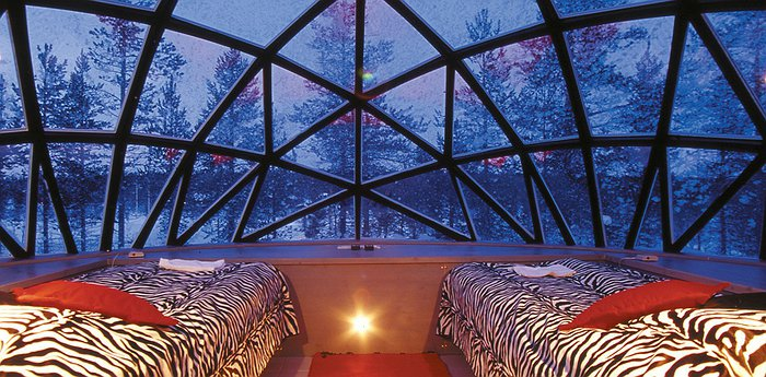 Igloo Hotel Kakslauttanen - Glass Igloos In The Arctic Circle