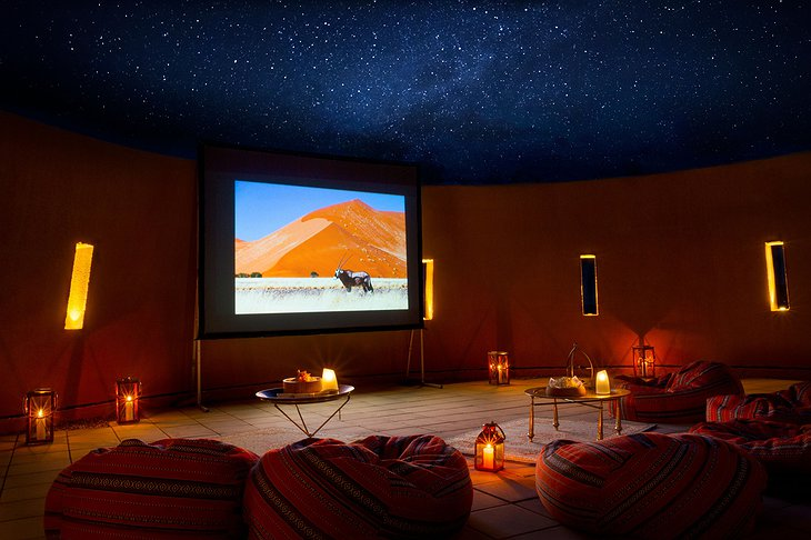Anantara Al Jabal Al Akhdar Resort - Cinema Under The Stars