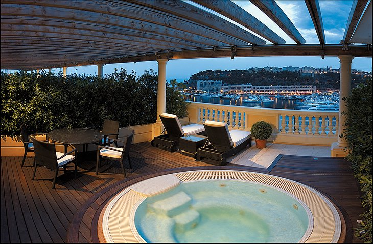 Hotel Hermitage Monte-Carlo jacuzzi