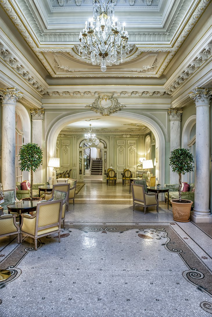 Hotel Hermitage Monte-Carlo lounge
