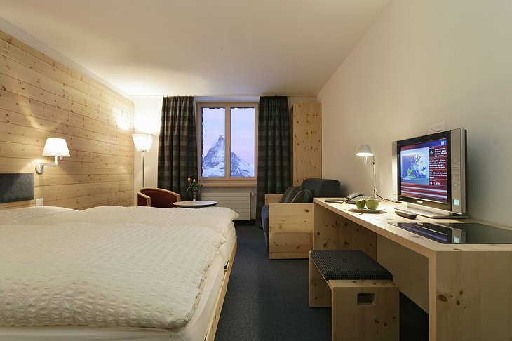 Kulmhotel Gornergrat room
